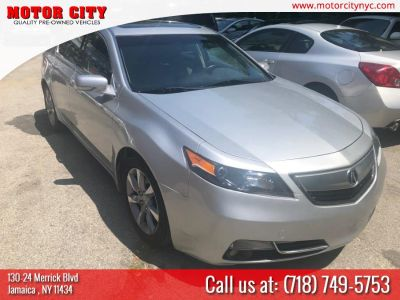 2012 Acura TL w/ Technology Package (Graphite Luster Metallic)