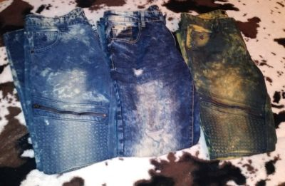 3 par Mens designer jeans only worn once