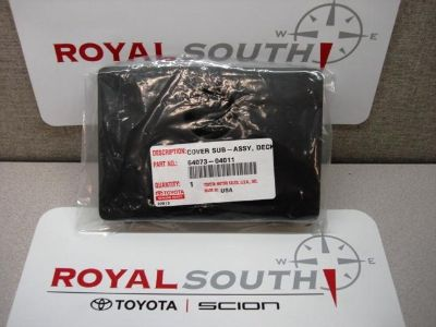 Sell Toyota Tacoma Truck Bed Side Deck Door Cover Small Genuine OEM OE motorcycle in Bloomington, Indiana, US, for US $35.00