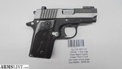 For Sale: Sig 238-380-EQ