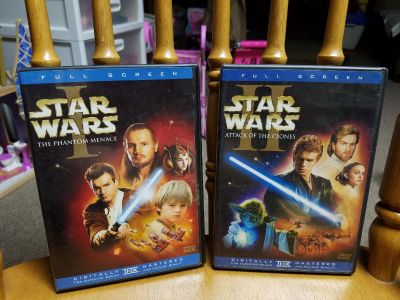 Star wars 1 and 2