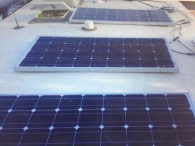 RV solar systems installation