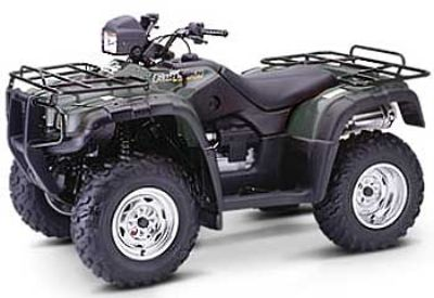 2004 Honda Fourtrax Foreman Rubicon GPScape Utility ATVs Crystal Lake, IL