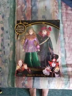 Disney Alice Through the Looking Glass Dolls