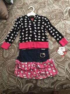 Brand New Hello Kitty outfit New with Tags 2t