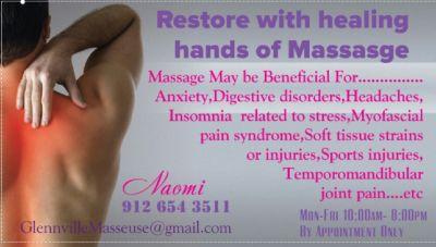 Need Personal Masseuse ?
