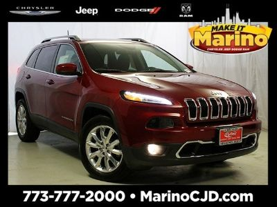 2016 Jeep Cherokee Limited (Red)