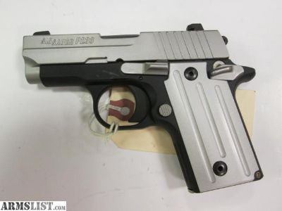 For Sale: New Sig Sauer P238 .380 Two-Tone