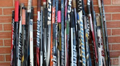 Looking for Hockey sticks- used or broken for a project