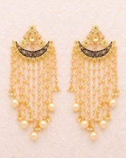 Buy Jhumkis - Pearl, Silver, Gold Plated, Jhumkis for Women Online | Voylla