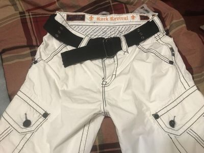 Rock revival shorts, worn once 32