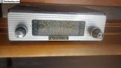 Autovox radio Australian