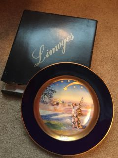 Limoges France Christmplate