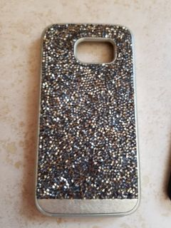 Brilliance samsung 7 phone case gold