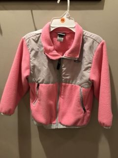Girls fleece Champion jacket, size 5T