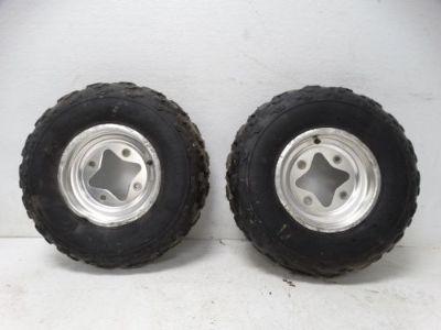 Find 2003 Suzuki LTZ400 LTZ ATV Dunlop KT331 22x7-10 Front Rims & Studded Tires motorcycle in West Springfield, Massachusetts, United States, for US $118.99