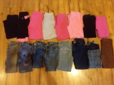 Lot of 16 pants size 6-6x - 8(fit like 6)