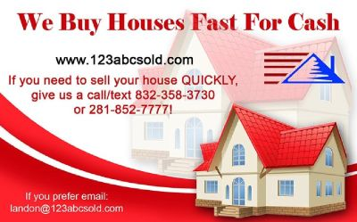 Sell Your House Fast for Cash | We Buy Houses, As-Is, Sell Now?