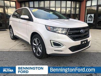 2018 Ford Edge (White Platinum Metallic Tri-Coat)