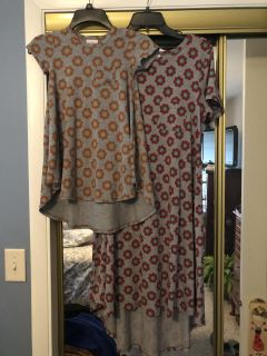 Lularoe Mommy & Me Carly s Worn once