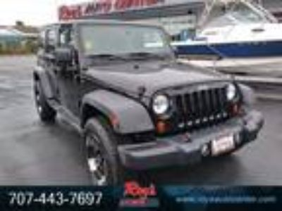 2012 Jeep Wrangler Unlimited Sport 3.6L V6 285hp 260ft. lbs.