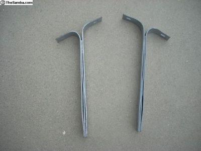 Original German rear bumper brackets