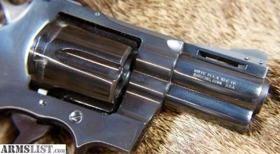 For Sale: Colt Python 2 1/2