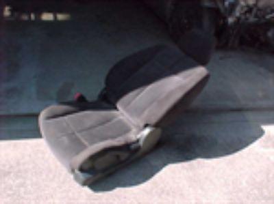 Parts For Sale: Nissan Altima Sedan Drivers Side Left Bucket Seat Grey