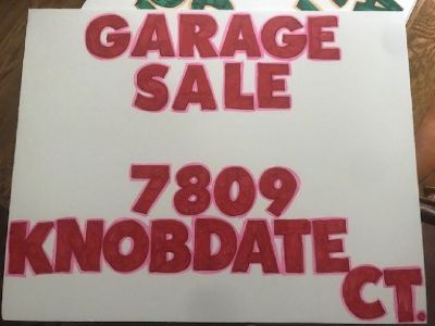 Friday June 22 garage sale