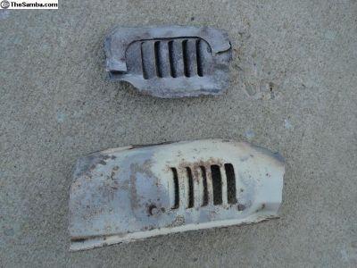 Volkswagen Beetle Floor Heat Vents