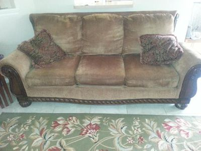 $300, couch and loveseat