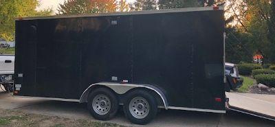 Bendron Enterprise enclosed trailer(finished inside)