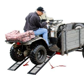 "Find 48.5"" Dual Steel 1,600 lb ATV UTV Trailer Utility Loading Ramps ST-4811-1600-MV2 motorcycle in West Bend, Wisconsin, United States"