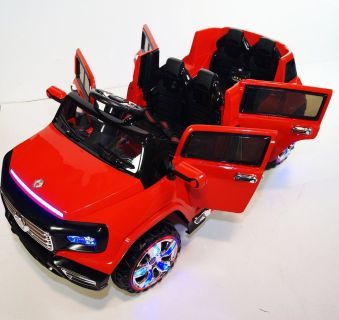 4 Door Ride On Toy Car For Kids 12V Battery Operated