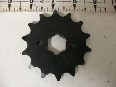 Sell HONDA TRX300 FRONT SPROCKET ATC TRX 33814 SUNSTAR 14 TOOTH STEEL 520 CHAIN motorcycle in Shelbyville, Illinois, US, for US $14.99
