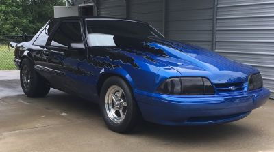 Pro charged 1993 Ford Mustang