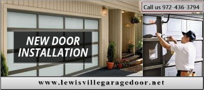24 Hour New Garage Door Installation Service - Lewisville, Dallas
