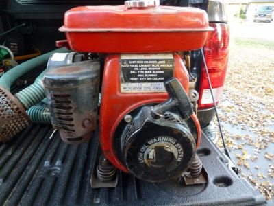 Homelite 2 Inch Trash Pump Gas Powered Water Wisconsin Teledyne Engine
