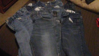 Boys jeans size 7/8 all ripped at the knees thats why they are FREE