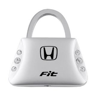 Sell Honda Fit Jeweled Purse Keychain / Key fob Engraved in USA Genuine motorcycle in San Tan Valley, Arizona, US, for US $14.61