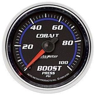 Buy Autometer 2-1/16in. BOOST; 0-100 PSI MECH; COBALT motorcycle in Acworth, Georgia, US, for US $84.28
