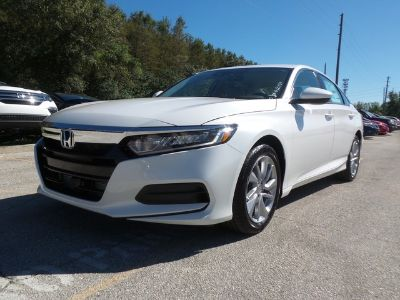 2019 Honda ACCORD SEDAN LX 1.5T (Platinum White Pearl)
