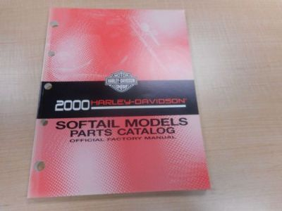 Buy 2000 HARLEY DAVIDSON SOFTAIL PARTS MANUAL 99455-00a motorcycle in Newnan, Georgia, United States, for US $29.00