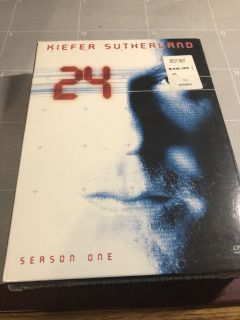 New 24 Season One DVD Collection - Sealed