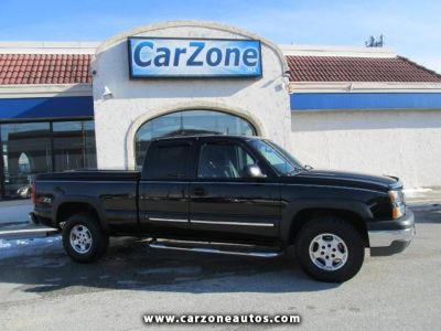 2004 Chevrolet Silverado 1500 Z71 Ext. Cab Long Bed 4WD with Tow Hitch, Mileage: 92,659