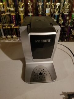 Mr. Coffee k cup coffee brewer. Cross posted.