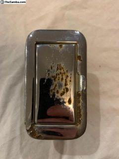 Chrome ashtray