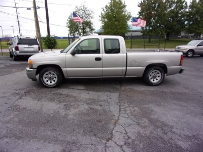 2005 GMC Sierra 1500 Work Truck (Pewter)