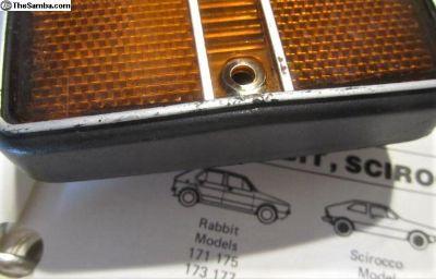 Westmoreland Rabbit Front Marker Lens 1979-1980: