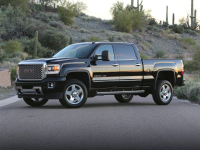 2017 GMC Sierra 2500HD Denali (Quicksilver Metallic)